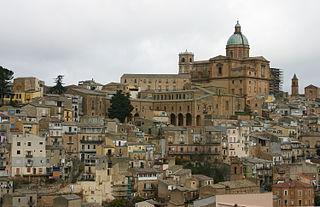 Piazza Armerina Comune in Sicily, Italy