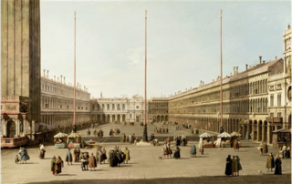 The Piazza San Marco (with view west)