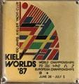 Picture of the Kiel Worlds 1987 enamel plaque.png