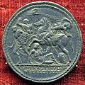 Pier maria serbaldi da pescia, medaglia di giulio II, verso con conversione di saulo (argento).JPG
