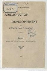 Français: Amélioration et développement de l'Éducation physique