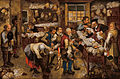 Pieter BRUEGHEL Ii - The tax-collector's office - Google Art Project.jpg