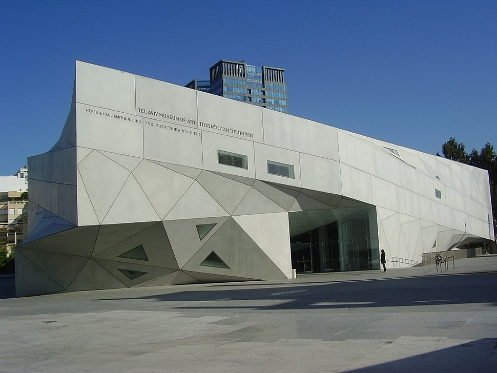 PikiWiki Israel 15635 The new wing of Tel Aviv museum of art