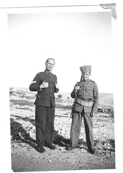 שוטר וגפיר בארץ ישראל בשנות ה-30