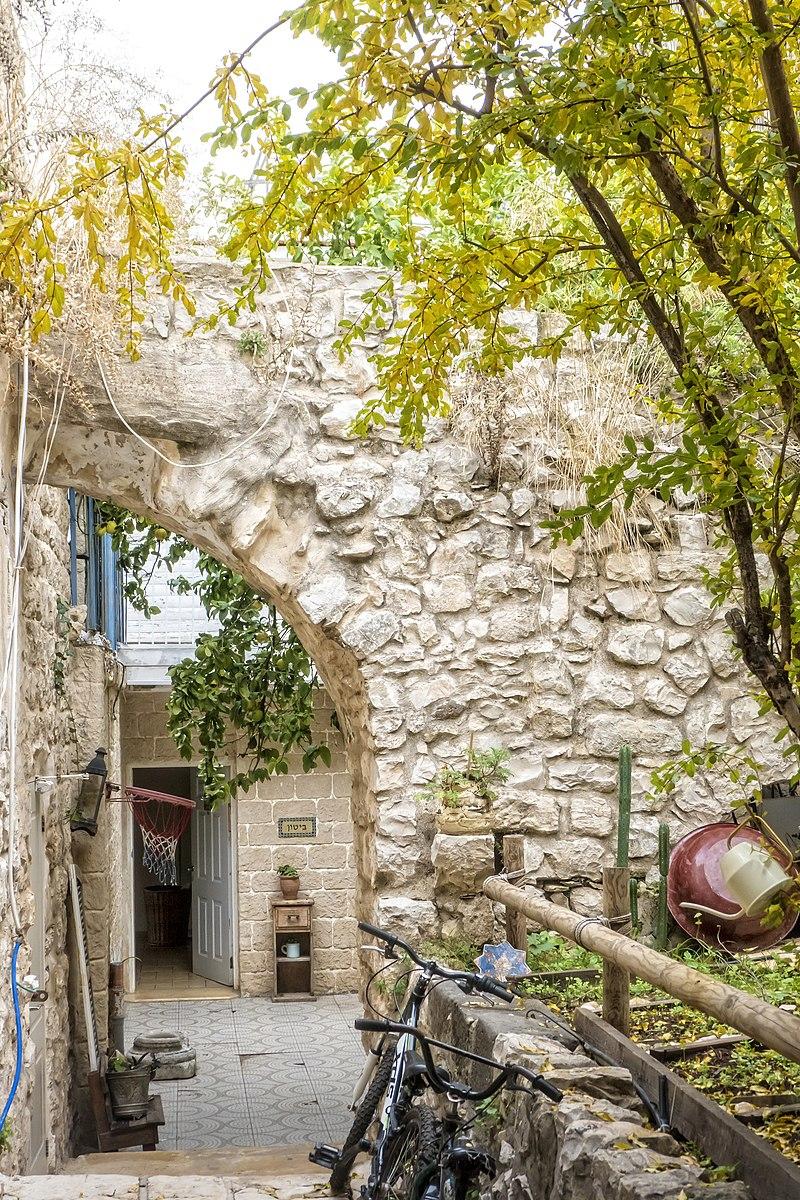 בית פרטי בעיר העתיקה בצפת