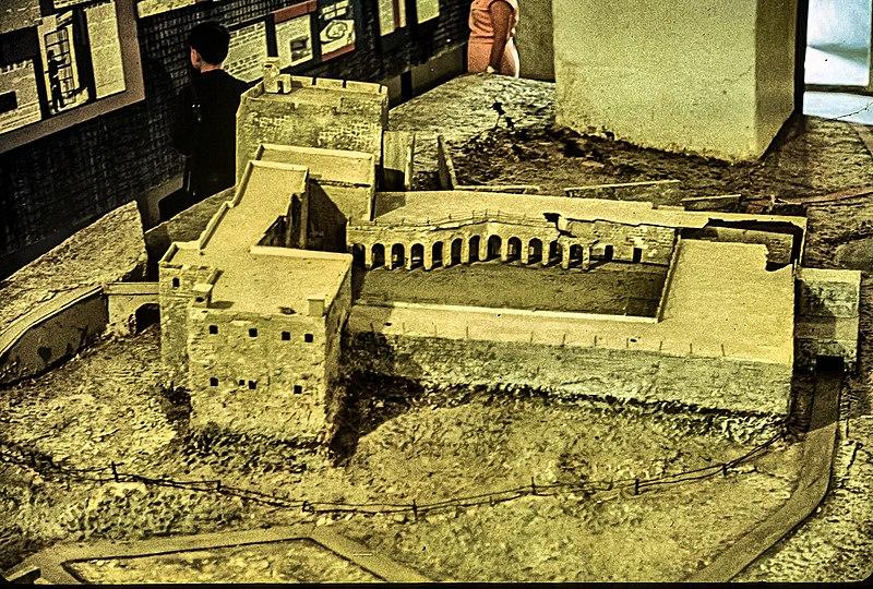 דגם בית הסוהר במצודת עכו
