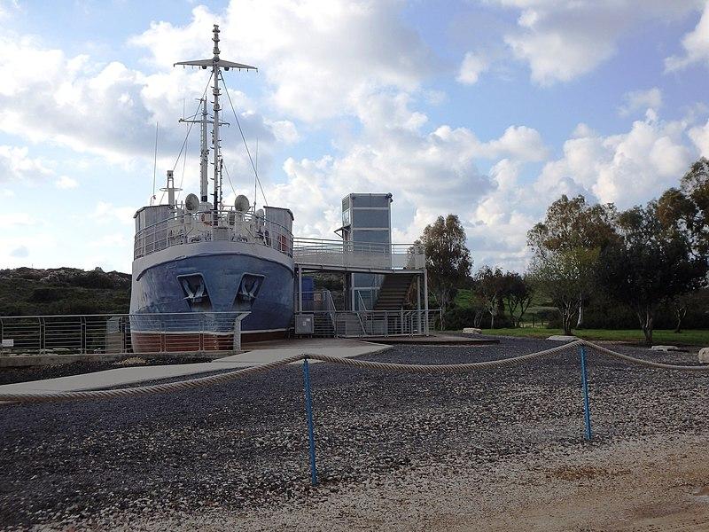 ספינת המעפילים במחנה בעתלית