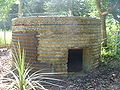 Pillbox Type 25, Sheephatch Lane (rear).JPG