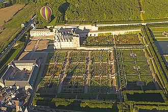 Villandry - Château de Villandry and its garden