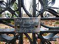 Plaat Carl Immanuel Hesse ristil Jõhvi surnuaial, 4. november 2012.jpg