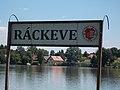 Place name sign, Kelemen Park, 2018 Ráckeve.jpg