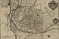 Plan ville Bourges rempart gallo-romain 1703.jpg