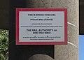Plate, Princess Way railway bridge, Seaforth 2.jpg