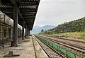 Platform of Gubeikou Railway Station (20180430151701).jpg
