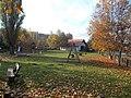 Playground next to Fire station. Listed ID 14841. - Fő Sq., Budajenő, Hungary.JPG