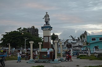 Guiuan - The Guiuan Town Plaza in 2016, part of Poblacion Ward 7