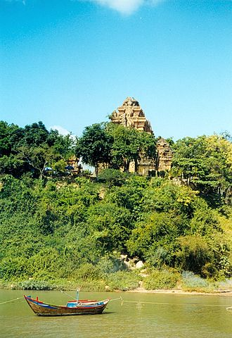 Art of Champa - The temple of Po Nagar is near Nha Trang.