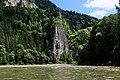 Początek przełomu Dunajca przez Pieniny. - panoramio.jpg