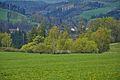 Pohled na vesnici od jihovýchodu, Domašov nad Bystřicí, okres Olomouc.jpg