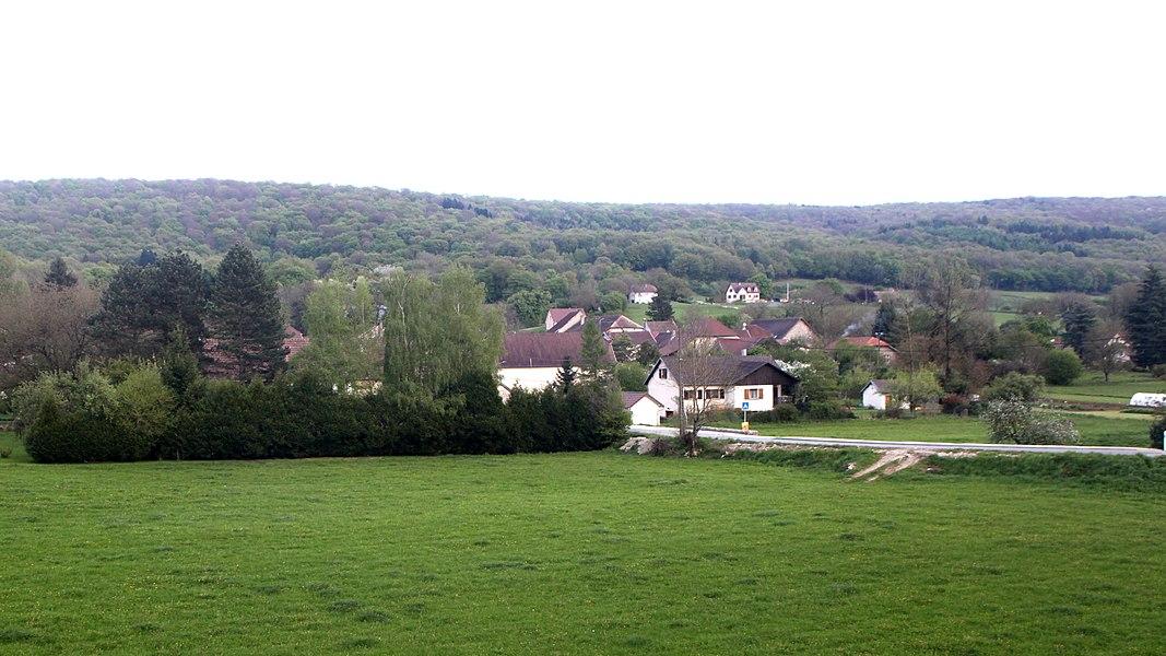Vue de Pointvillers (Doubs).