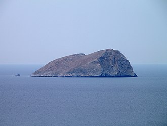 Pondikonisi - The islet of Pontikonisi.