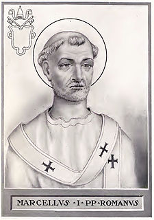 Pope Marcellus I pope