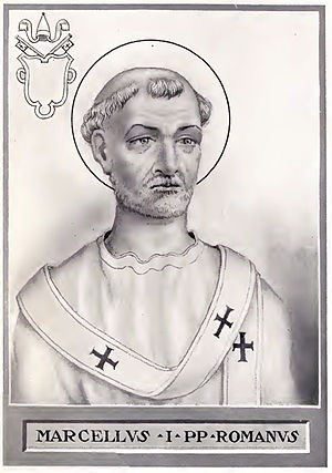 Pope Marcellus I - Image: Pope Marcellus I