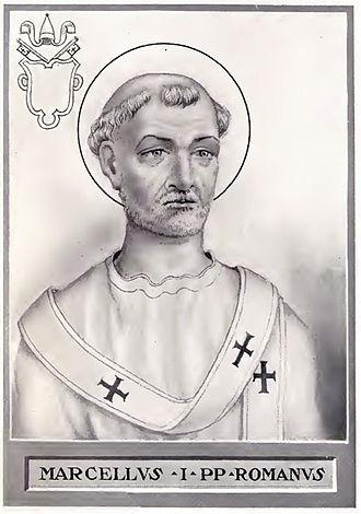 Pope Marcellus I - Image: Pope Marcellus I