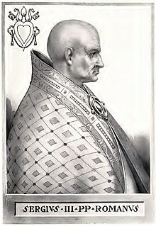 Image result for Pope Sergius III