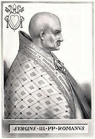 Pope Sergius III - Image: Pope Sergius III