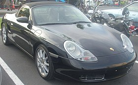 Photo d'un Boxster Type 986
