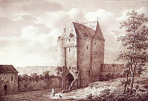Namur Gate - The Namur Gate at the end of the 18th century