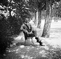 Portrait, bench, man Fortepan 8117.jpg