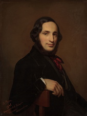 Alexey Tyranov's Portrait of Aivazovsky from 1841