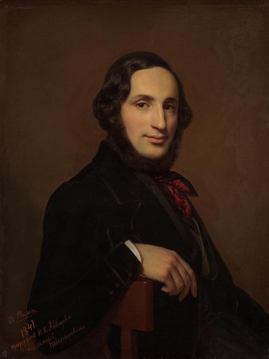 Portrait of Ivan Konstantinovich Aivazovsky 1841