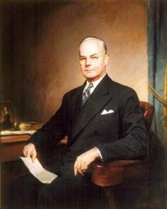 John Wesley Snyder (US Cabinet Secretary) - Image: Portrait of John W. Snyder