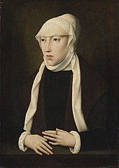Portrait of Mary of Hungary (Mary of Austria, Queen of Hungary)
