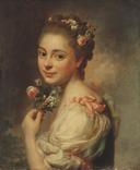 Portrait of the Artist's Wife Marie Suzanne, née Giroust (Alexander Roslin) - Nationalmuseum - 18014.tif