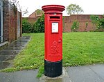 Post box on Kensington, Liverpool.jpg