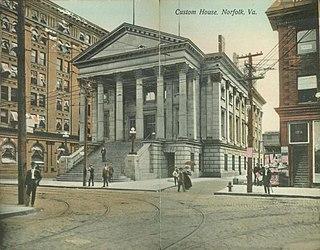 Owen B. Pickett United States Custom House United States historic place