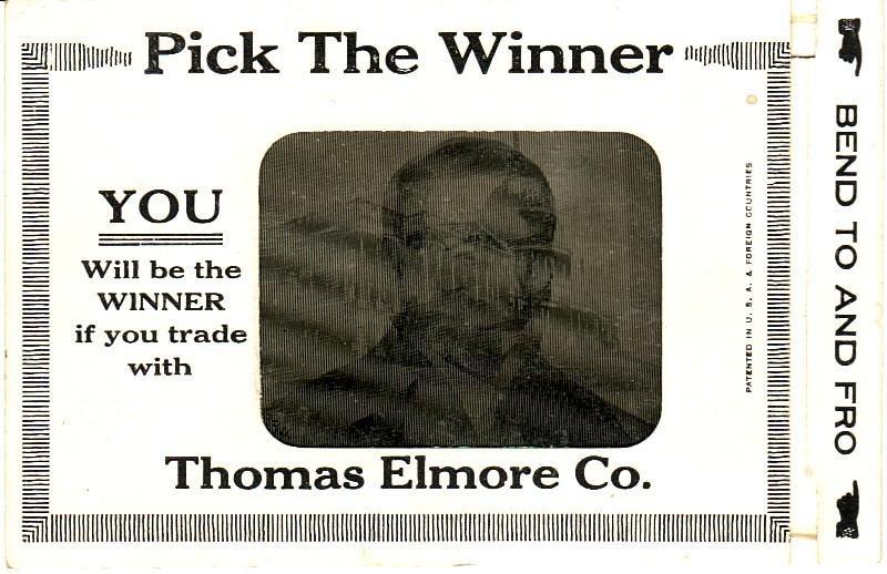 PostcardPickTheWinnerWilsonHughesPresidentialElection1916