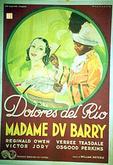 Poster - Madame Du Barry.jpg