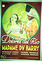 Poster - Madame Du Barry.jpg