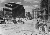Berlin in ruins after World War II, Potsdamer Platz 1945