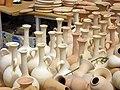 Pottery in Iran - qom فروشگاه سفال در ایران، قم 11.jpg