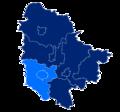 Powiat trzebnicki granice gmin i miast Oborniki Śląskie.png