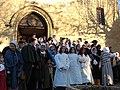 Préparation de la messe de minuit un 24 décembre dans le Comtat Venaissin.jpg
