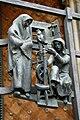 Praha, Katedrála, Zlatá brána, mříž 02.jpg