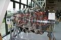 Pratt and Whitney R-4360 Wasp Major radial RSide cutaway EASM 4Feb2010 (14591104955).jpg