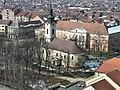 Pravoslavna crkva i Zgrada Velikokikindskog dištrikta u Kikindi.JPG